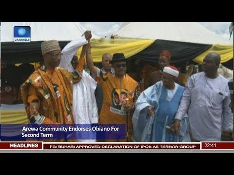 Arewa Community Endorses Obiano For Second Term Pt 3 | News@10 |