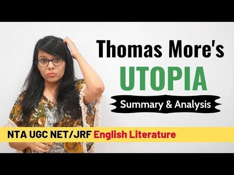 Thomas More`s Utopia- Quick Summary & Analysis