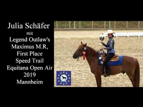 Missouri Foxtrotter - Speed Trail Class - Equitana Open Air 2019
