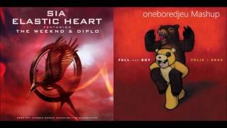 I'm Not Elastic - Sia vs. Fall Out Boy (Mashup)