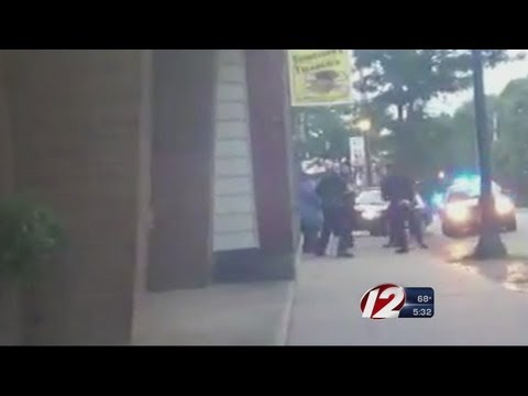 North Attleboro police incident caught on video