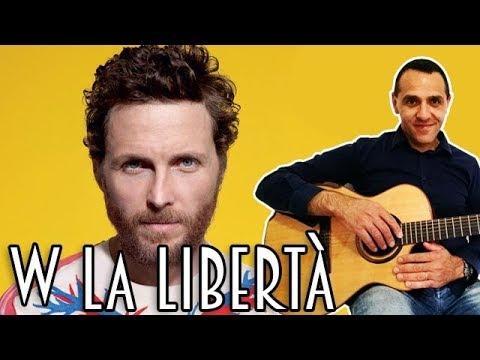 Viva La Libertà - Jovanotti - Chitarra - Tutorial - Lezione