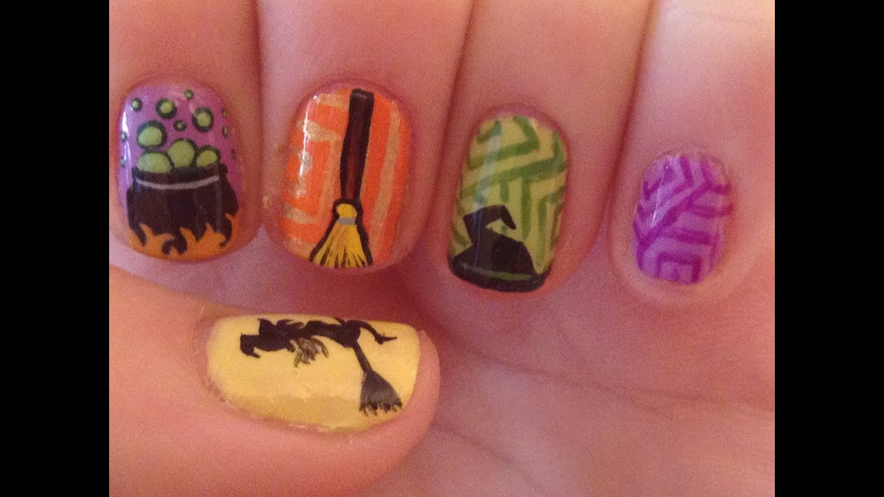 Witch Nail Art Tutorial Youtube