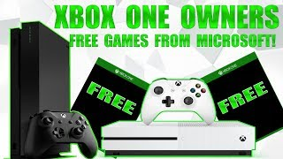 Microsoft Is Giving FREE GAMES To All Xbox One Owners Right Now! This Is Incredible!