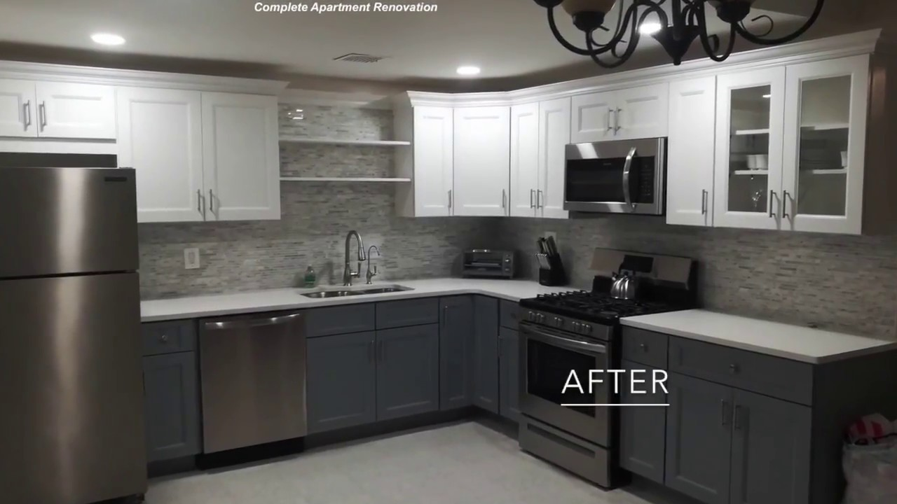 Complete Brooklyn Kitchen Renovation | Kitchen Remodeling NYC - YouTube