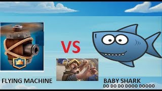 BABY SHARK | CLASH ROYALE | DANCE | MUSIC | ANIMATION