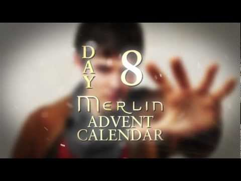 Colin Morgan spills the beans on Bradley James | Day 8 | Merlin Advent Calendar
