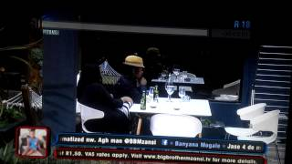 Mandla & Lexi_BigBrother_Sex in the Bathroom