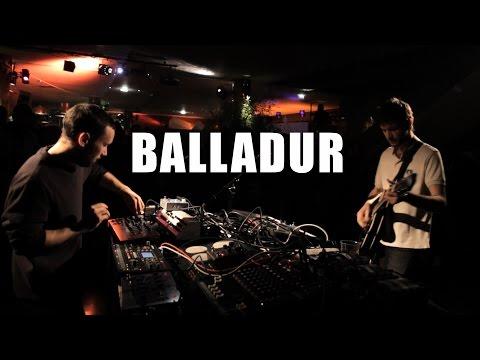 Balladur - Occhiali Da Sole - Live (Astropolis l'Hiver 2016)