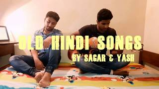 Old Hindi Songs Mashup | Guitar Cover | 17 Songs On FOUR CHORDS |