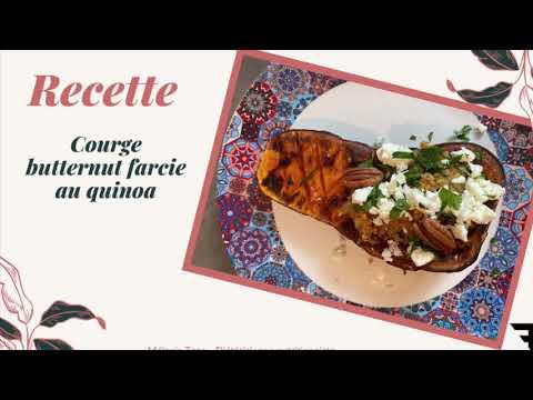 recette-:-courge-butternut-farcie-au-quinoa