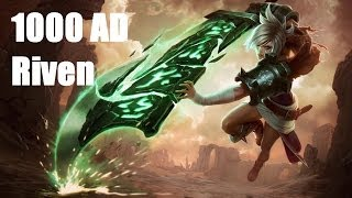 League of Legends - 1000 AD Riven