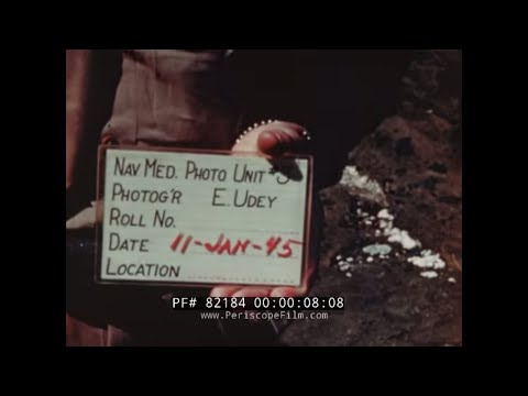 IWO JIMA INVASION FLEET  BOMBARDMENT RAW FOOTAGE  1945 WWII   82184
