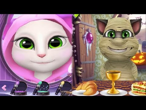 My Talking Tom and Talking Angela Gameplay Part 70