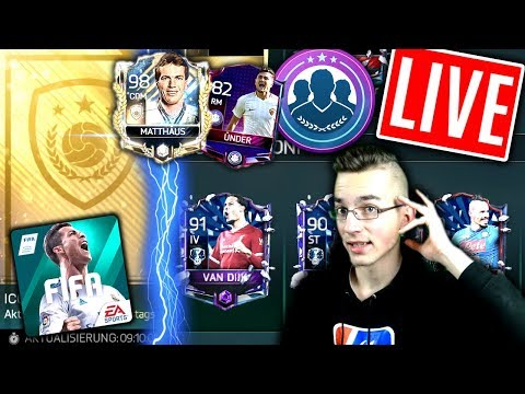FIFA 18 MOBILE: Live XXL 😱🔥 NEUE ICONS + REKORDSPIELER PACK OPENING + SBC?!