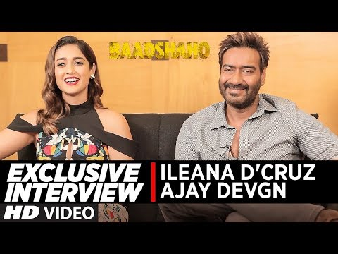 Thumbnail: Exclusive Interview with Ajay Devgn & Ileana D'Cruz | Baadshaho | T-Series