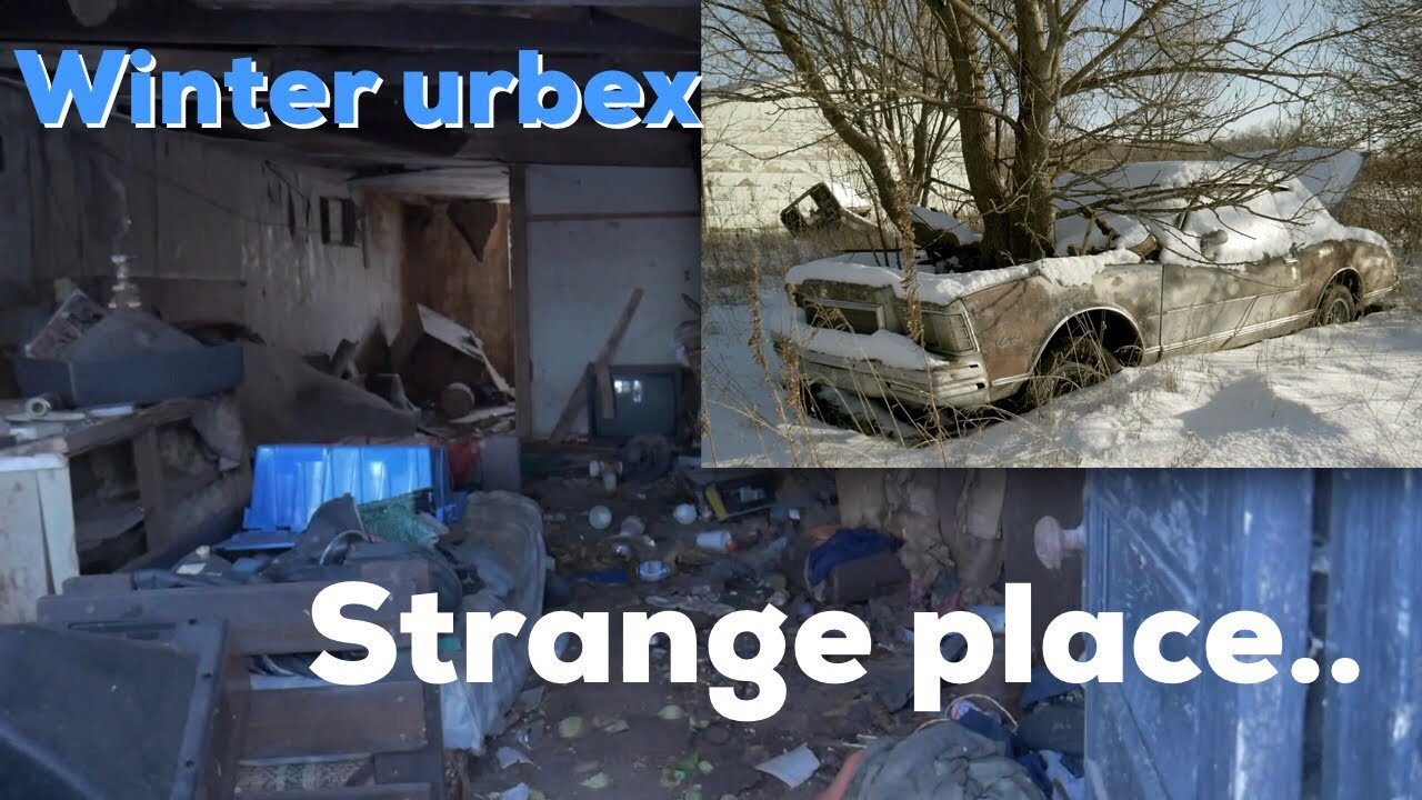 Abandoned Garage and Living Quarters near Handy Tower (Found abandoned cars and semi trailers full!)