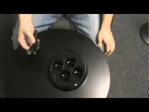 Quad Charging Station for Nintendo Wii - Black - blackjackelectronics.com