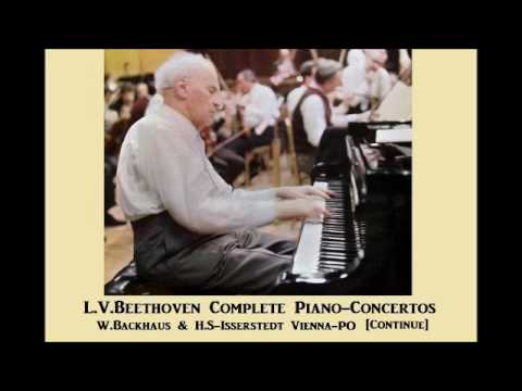 L.V.Beethoven Conplete Piano-Concertos [ W.Backhaus & H.S-Isserstedt Vienna-PO ] (1958~9)