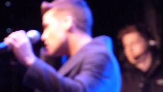 Joe McElderry at Durham Lights - Feel The Fire / What Have I Done