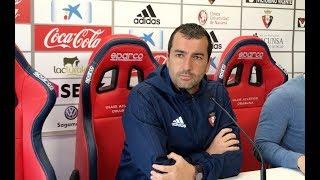 Previa Diego Martínez. Osasuna-Alcorcón