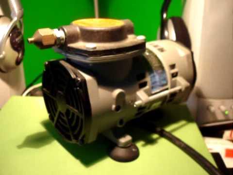 Badger Airbrush Compressor Model 80 2 Test Youtube