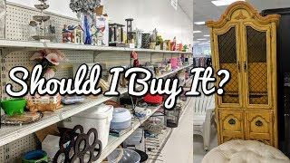 Goodwill Thrift with Me-What did I get Thrifting Today?-Project Thrift 52 Week 42