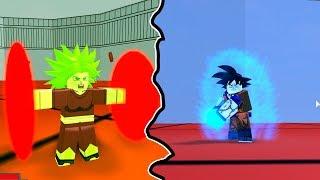 Ultra Instinct Goku vs Kelfa | Dragon Ball Z Advanced Battle in Roblox | iBeMaine