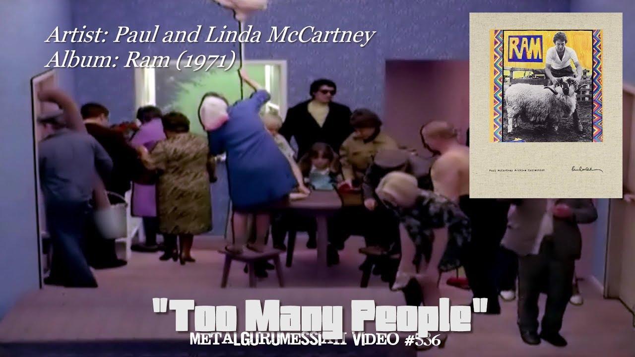 Too Many People - Paul and Linda McCartney (1971) 96KHz/24bit FLAC