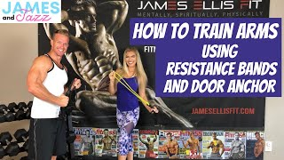 How To Train Arms    Resistance Bands Exercises    Door Anchor    Exercise Demonstrations    Arms