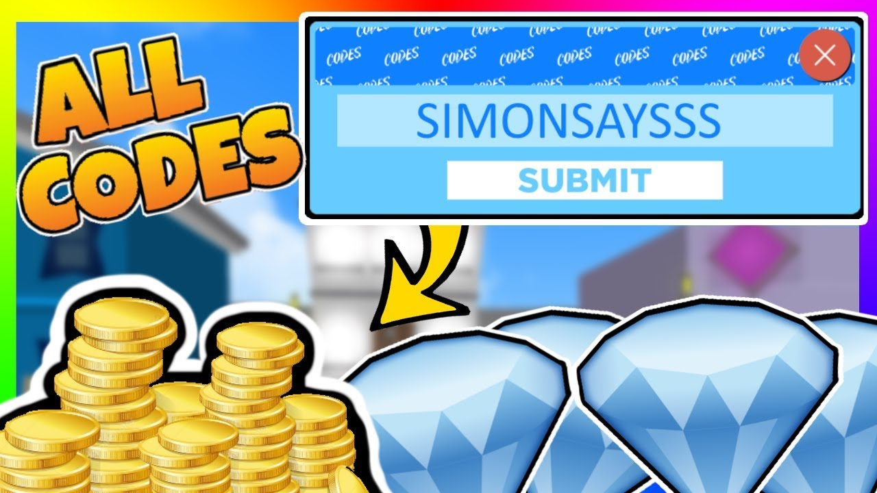 simon says codes roblox