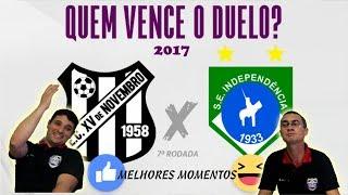 7° Programa Gol do Vale Mais 2017 - XV de Novembro x Independência