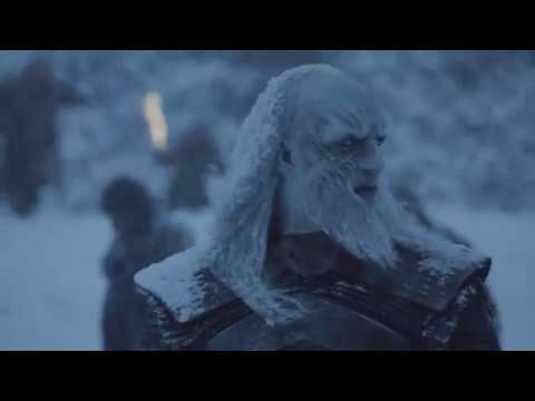 Game of Thrones 7x6 Jon kills another White Walker