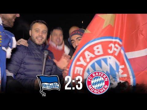 HERTHA BSC VS BAYERN MÜNCHEN │ DFB POKAL ACHTELFINALE