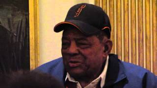 Willie Mays remembers Ernie Banks