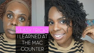 Makeup for Beginners: 5 EASY Tricks I Learned at the MAC Makeup Counter