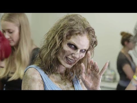 Taylor Swift Shows Off Zombie Transformati In LWYMMD BTS