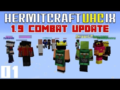 Minecraft 1.9 Hermitcraft UHC S9 E01 - Dmac & Draax Yellow Team (Minecraft PVP Mini Game)