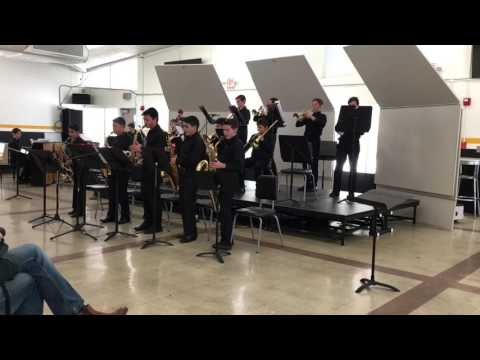 """Colina Middle School Jazz 1- """"Back Home Again in Indiana"""""""