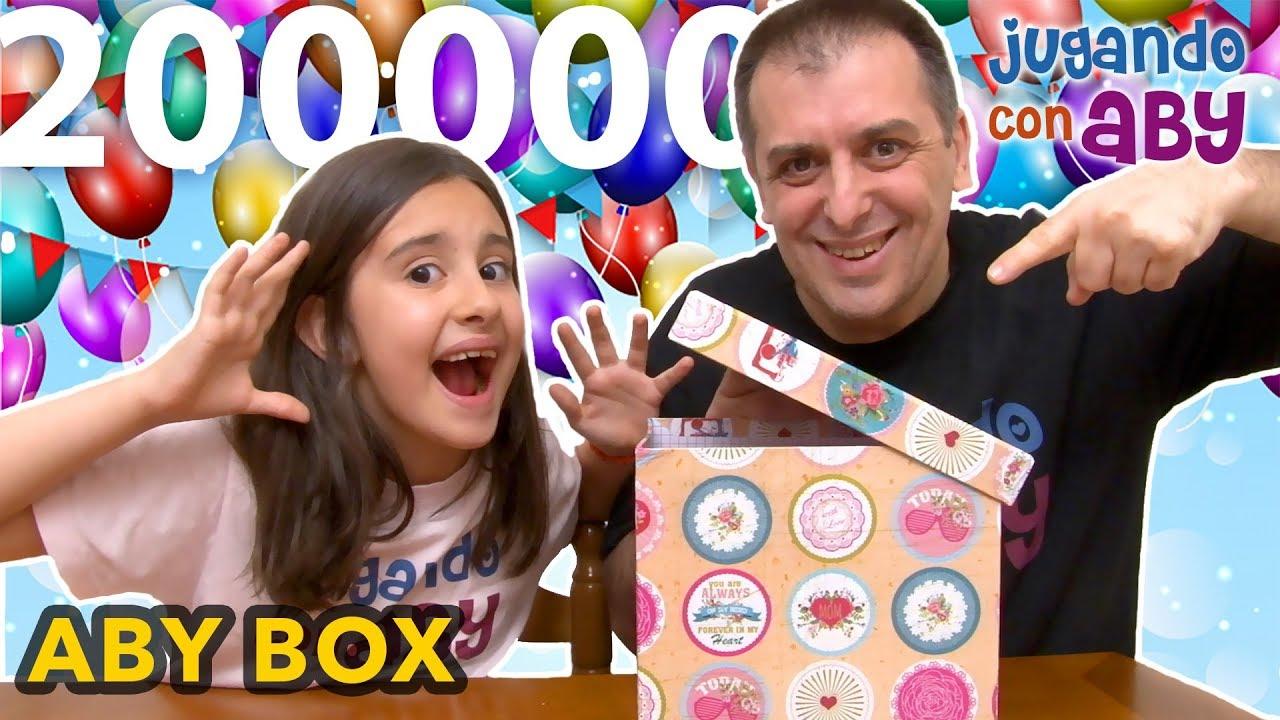 Y Caja De Regalos 200mil Box Extrema SuscriptoresAby Especial Juguetes v80nOmNw