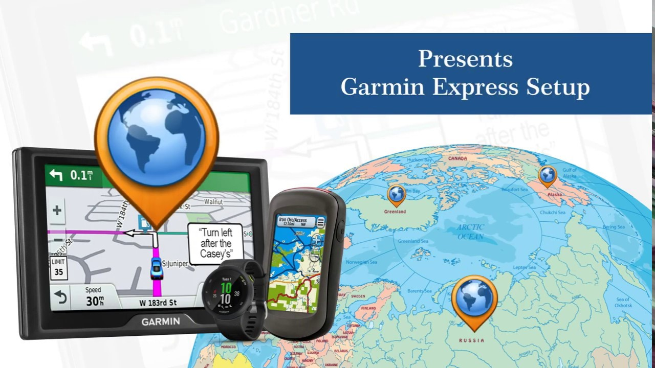 How to Update Garmin using Garmin Express Software on Garmin.com/express ?