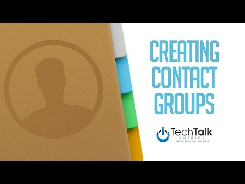 Creating Contact Groups on Your Mac