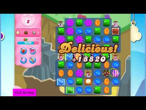 Candy Crush Saga Level 2912 NO BOOSTERS Cookie