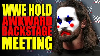 WWE Holds AWKWARD Backstage Meeting To Boost Low Morale! The Fiend NEW BELT? Wrestling News