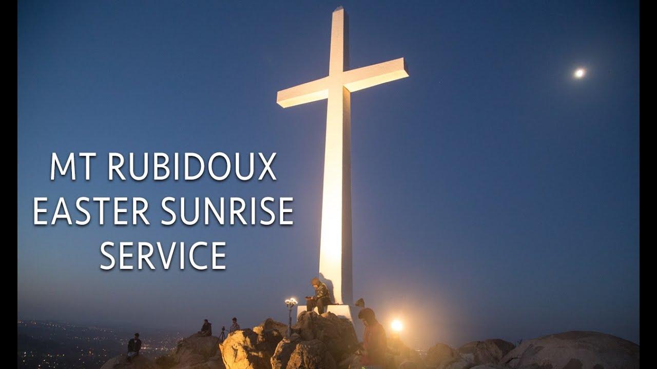 Easter Sunrise Service on Mt Rubidoux in Riverside - Video Travel Journal #2
