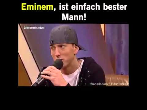Eminem Best Part's Of The Interview In Germany