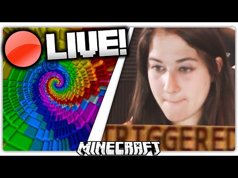 GIRL PLAYS MINECRAFT MAPS FOR THE FIRST TIME
