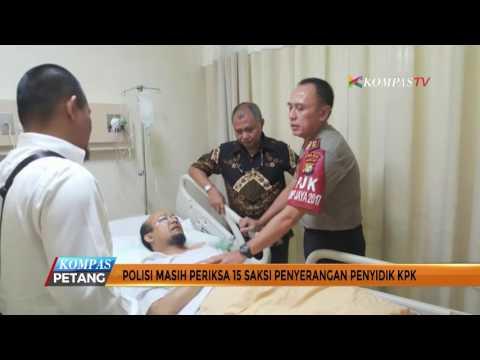 Polisi Periksa 15 Saksi Penyiraman Novel Baswedan