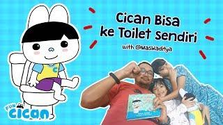 Cican Bisa ke Toilet Sendiri - with @MasWaditya feat. Acan & Acin