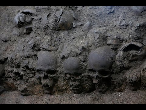 """MASSIVE human skull tower exposes """"unregistered"""" details about the Aztec Empire"""